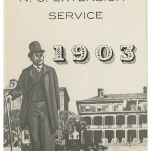 50th Anniversary N.C. Extension Service, 1903