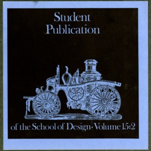 Student Publication of the School of Design, Volume 15:2