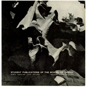 Student Publications of the School of Design, North Carolina State College, Raleigh, North Carolina, Volume 6, Number 1
