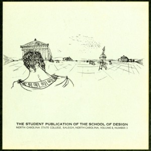 The Student Publication of the School of Design, North Carolina State College, Raleigh, North Carolina, Volume 8, Number 3