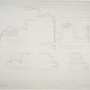 Plaster cornice details