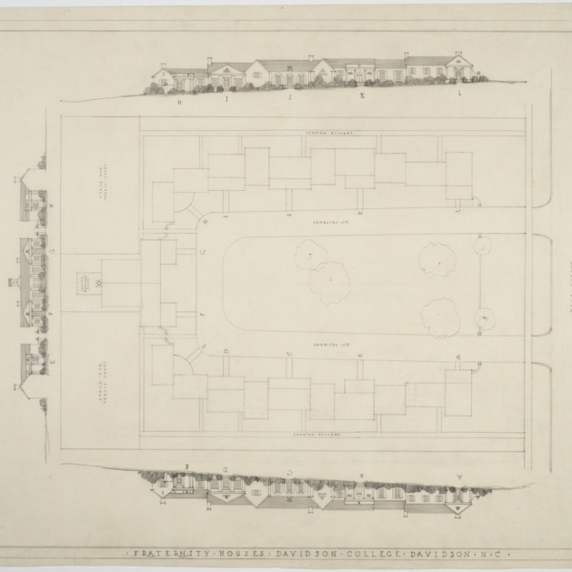 Site plan, elevations