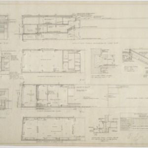 Floor plans, section