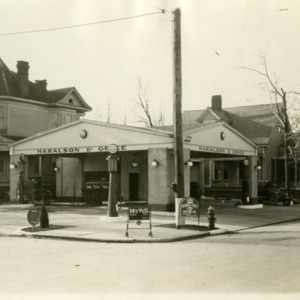 Haralson and Grice Filling Station, Location II - Front and Side