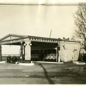 Haralson and Grice Filling Station - Front and Side