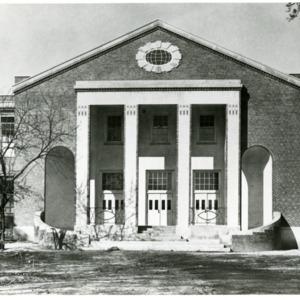 Harding High School - Front, main building