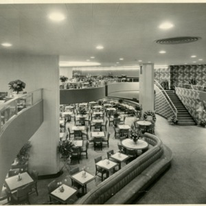 S&W Cafeteria (Greensboro, N.C.) - Dining Area, two floors