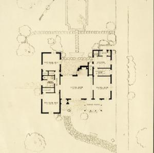 George Adams House - Plan