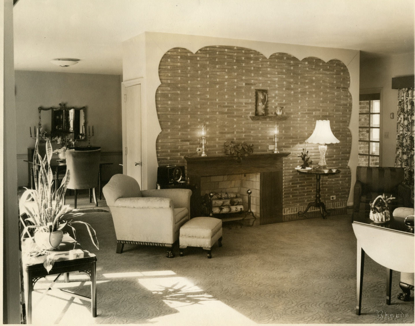 James E. Taylor House - Living Room
