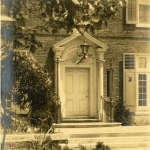 J. Luther Snyder House - Front Doorway
