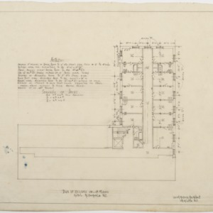 Revised third and fourth floor plans