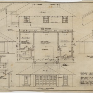 Floor plan, elevations
