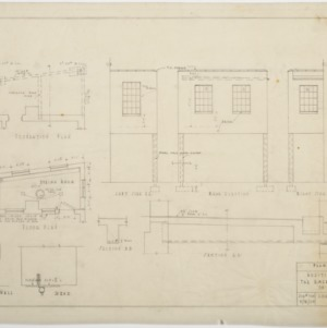 Floor plan, elevations of addition