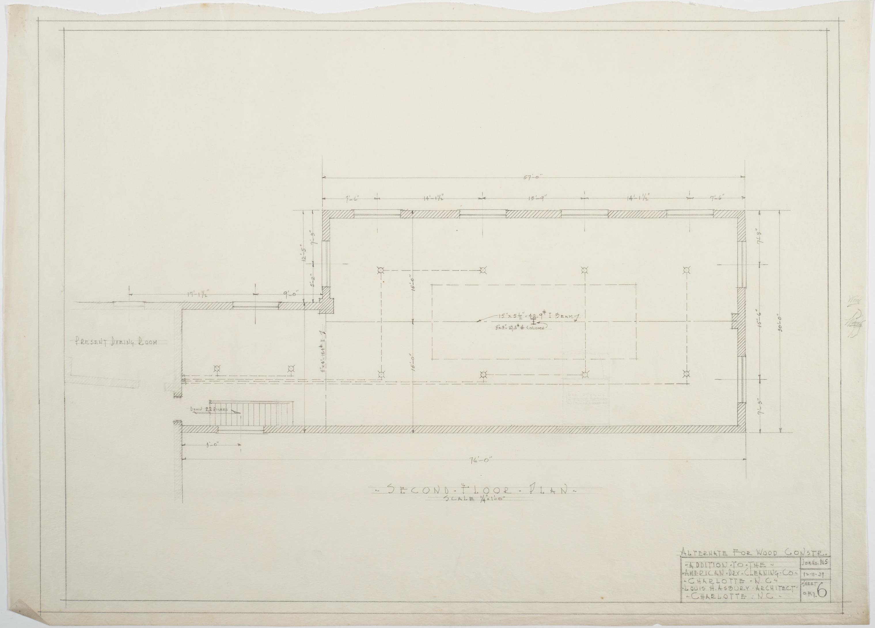 Second floor framing plan of addition american dry for Framing a second floor addition
