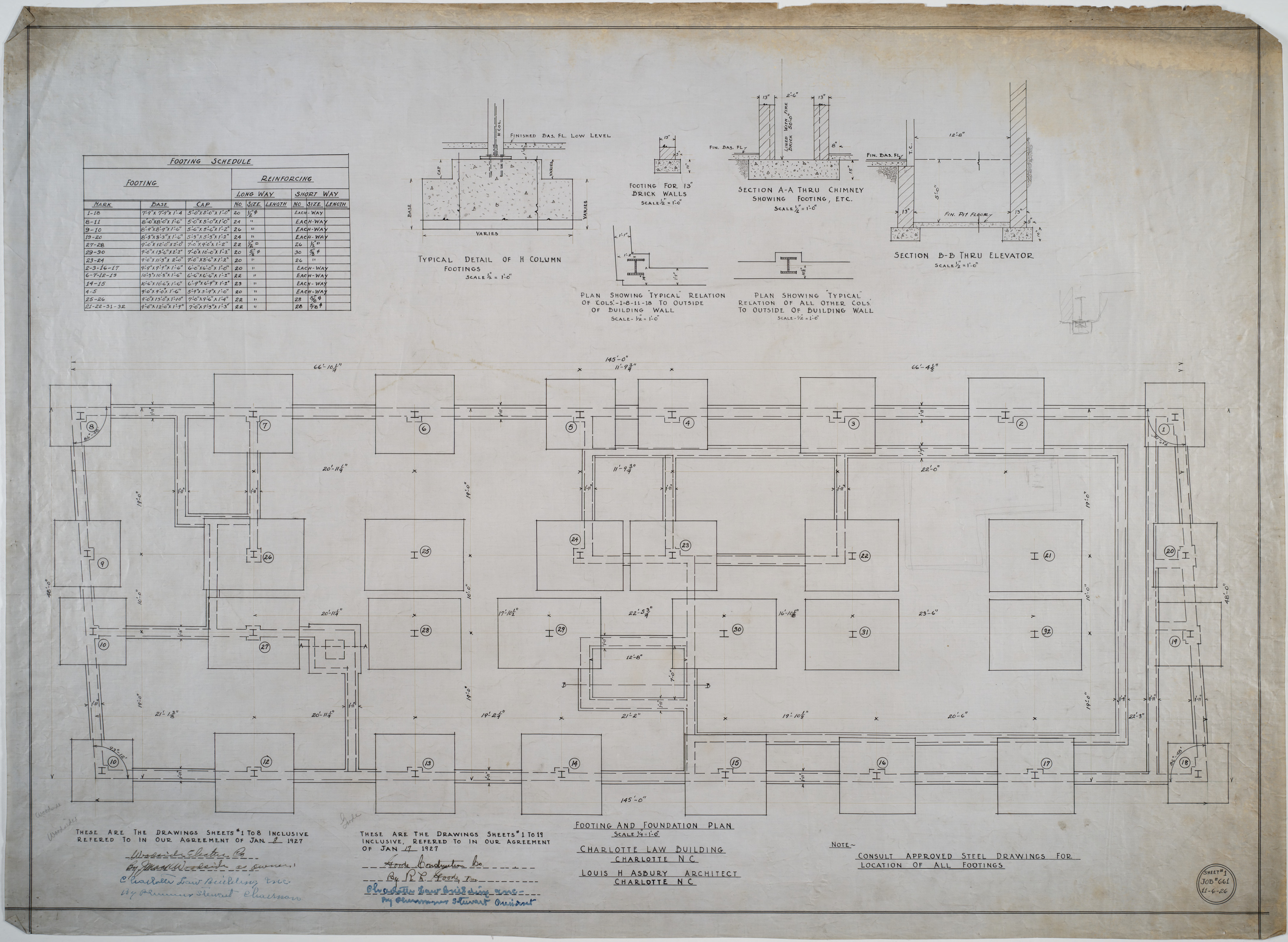 Building Foundation Plans Images