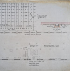 Seventh and eighth floor heating and plumbing plans