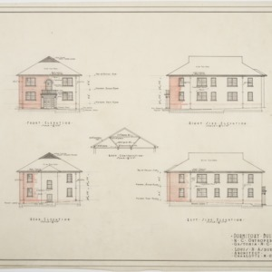 Elevations of Dormitory
