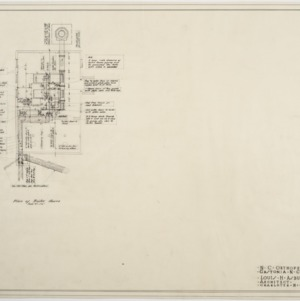 Heating plan of boiler house
