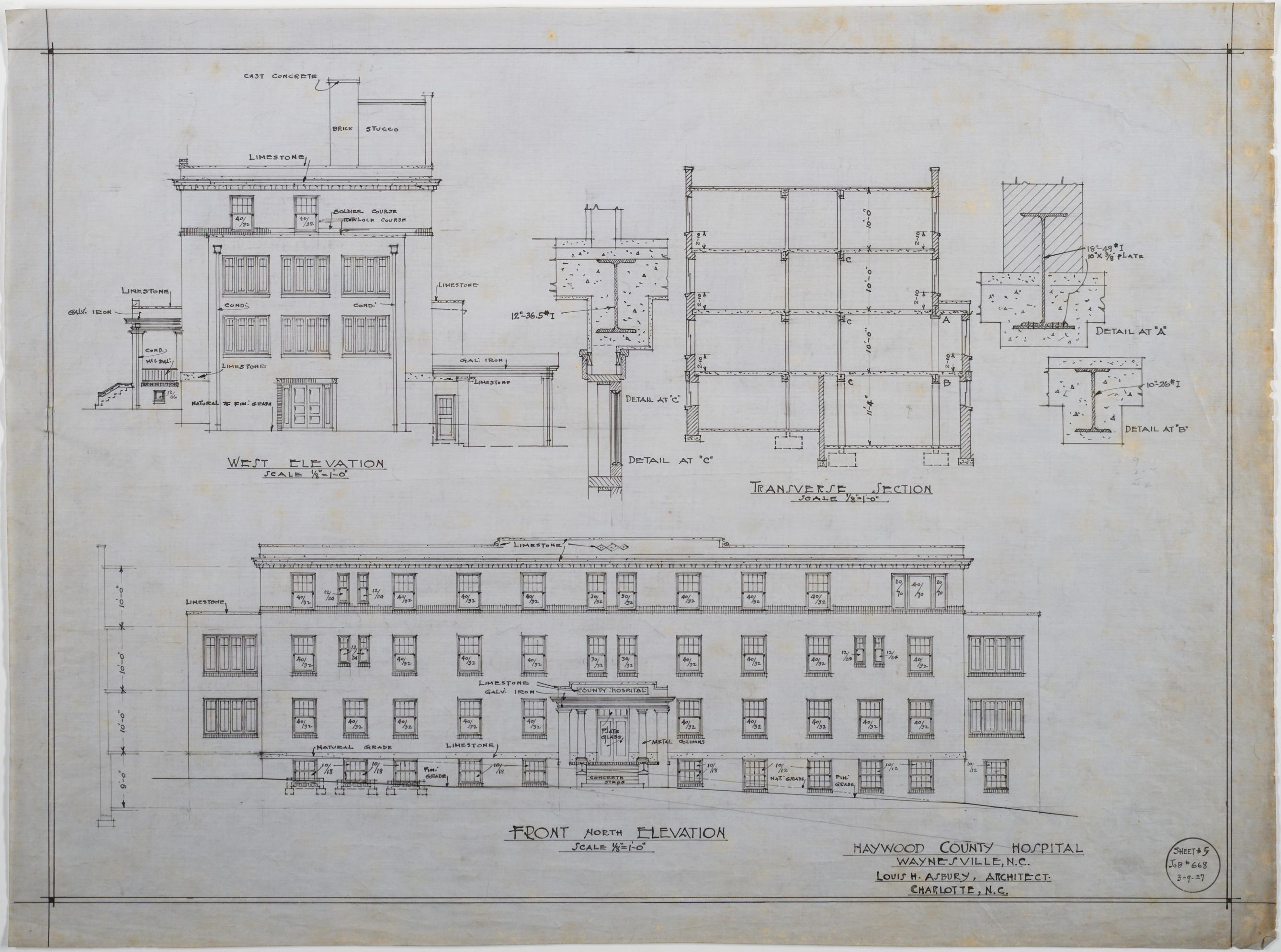 Plan Elevation Section Of Hospital : Hospital elevation joy studio design gallery best