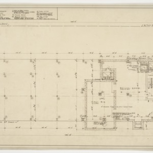 Subbasement floor plan