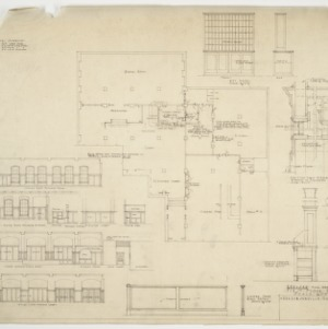Revised first floor plan