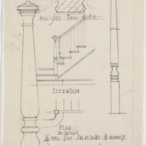 Baluster and newel details