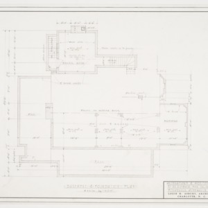 Basement & Foundation Plan