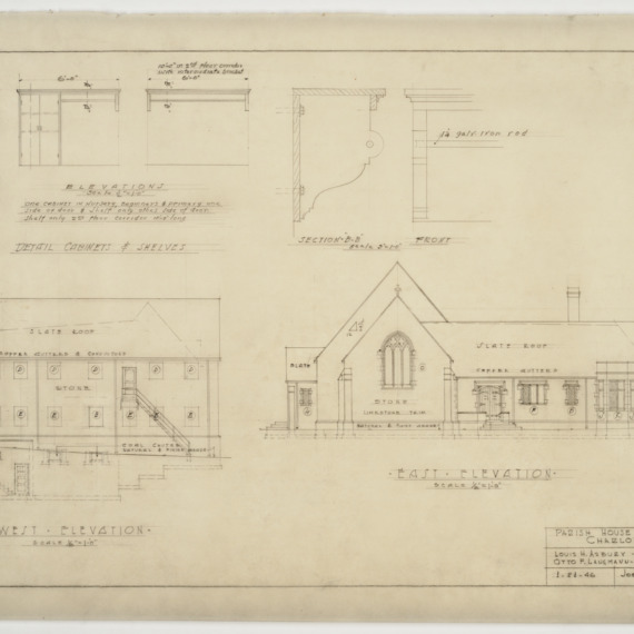 Elevations and cabinet elevations