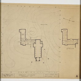 Site plan and floor plan