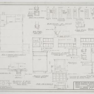 Door and cabinet elevations