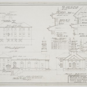 Elevations and tower sections