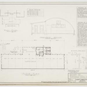 Floor Plan, Transverse Section, Plot Plan