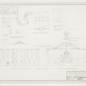 Front and Rear Elevations and Details