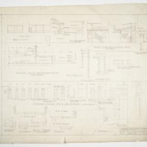 Door elevations and interior details