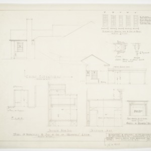 Elevations and cabinet details