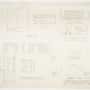 Cabinet details and elevations