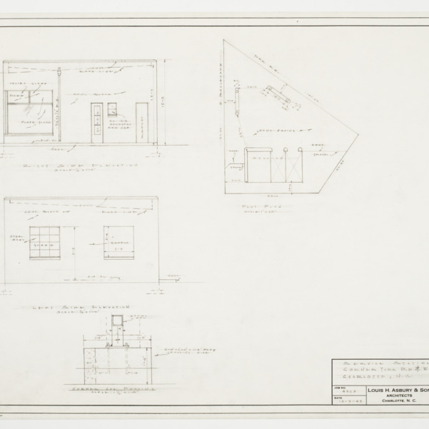 Elevations, Plot Plan and Footing Detail