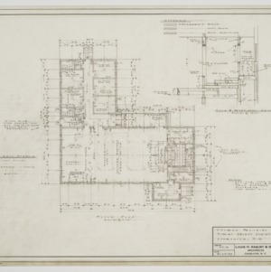 Floor plan and choir section