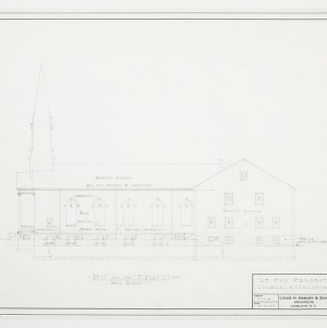West (Right Side) Elevation