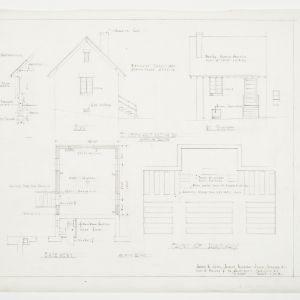 Basement Plan, Elevations, Sanctuary Plan