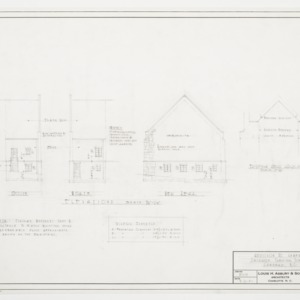 Elevations and Gable Detail