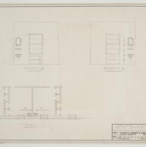 Bedroom elevations and floor plan