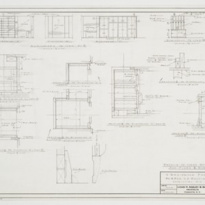 Cabinet elevations and details