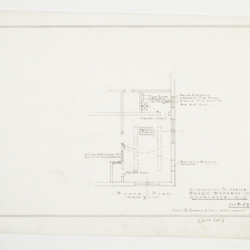 Alterations to office floor plan