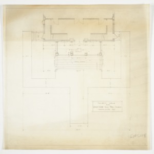 Entryway and walkway plan