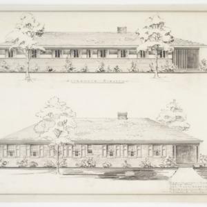 Front elevation renderings