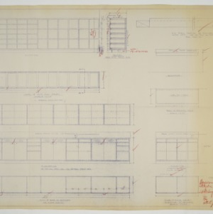 Cabinet elevations