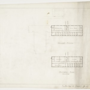 Basement and Second Floor Plans