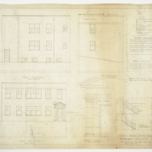 Elevations, Schedules and Details
