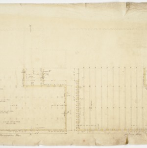 Foundation and First Floor Plans
